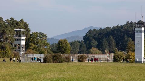 Die Gedenkstätte Point Alpha an der ehemaligen deutsch-deutschen Grenze