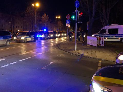 Die Polizei zieht sich aus Kassel zurück.