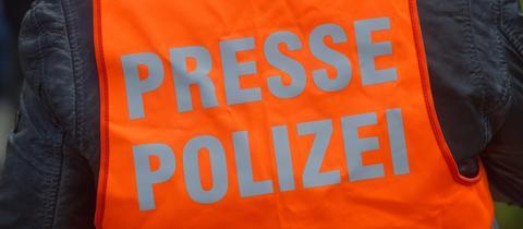 Presseweste Polizei