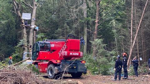 Polizeieinsatz Herrenwald