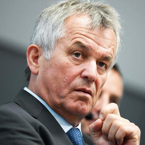 Frankfurts Polizeipräsident Gerhard Bereswill