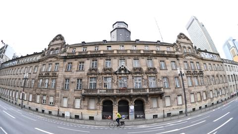 Das alte Polizeipräsidium in Frankfurt.
