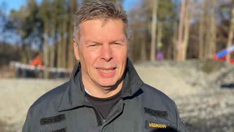 Polizeisprecher Jürgen Wegmann