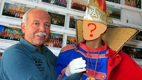 Karnevals-Präsident May sucht Prinzenpaar