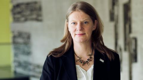 Andrea  Rapp ist Professorin am Institut für Sprach-und Literaturwissenschaft an der TU Darmstadt