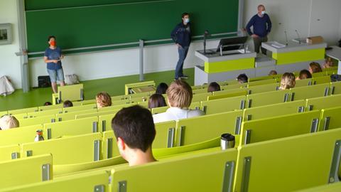 Prüfungssituation in Kassel