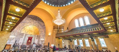 Die Ordination fand in der Frankfurter Westend-Synagoge statt.