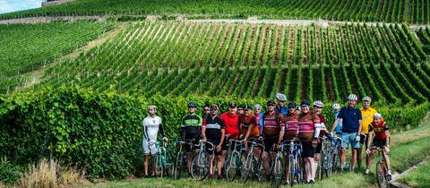 Radrennen im Rheingau