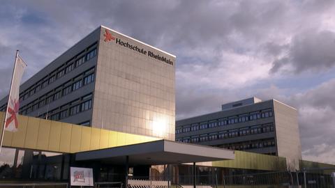 Die Hochschule RheinMain von außen