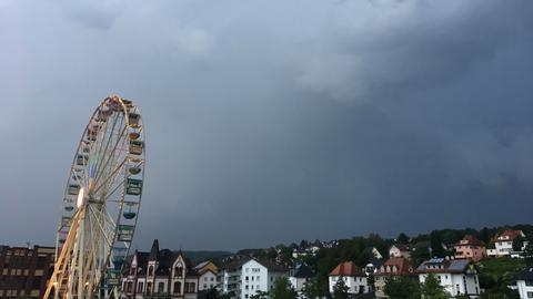 Riesenrad auf dem Hessentag in Bad Hersfeld