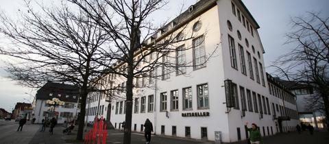 Rathaus der Stadt Rüsselsheim