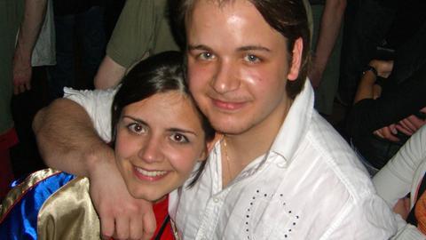 Vor 14 Jahren: Salome Saremi-Strogusch mit ihrem Bruder Fabian Salar.