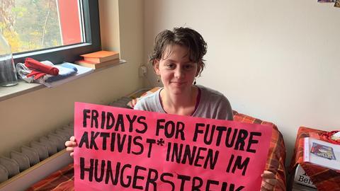 Klimaaktivistin Sarah Haenßgen
