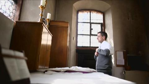 Hat sich beurlauben lassen:  Pfarrer Sascha Jung aus Flörsheim