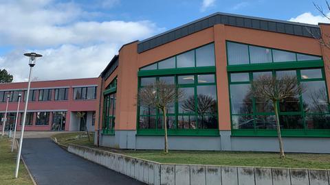 Die Wilhelm-Filchner-Schule in Wolfhagen.