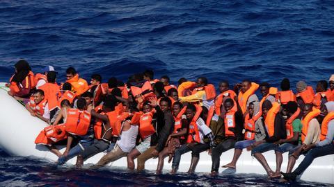 Sea-Eye, Flüchtlinge, Mittelmeer
