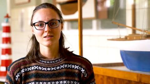 Portrait der Klimaaktivistin Clara von Glasow