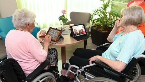 Senioren Internet Tablet