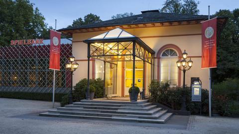 Die Spielbank Bad Homburg im Kurpark. (Archivbild)