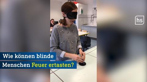 Startbild: So können blinde Menschen Feuer ertasten