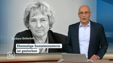 Trauer um Barbara Stolterfoth.