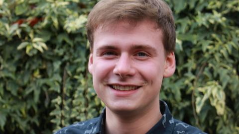 Steffen Batz von der Evangelischen Jugend in Hessen und Nassau