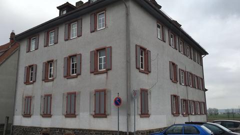 In diesem Haus im Stadtteil Nieder-Florstadt sind Flüchtlinge untergebracht.
