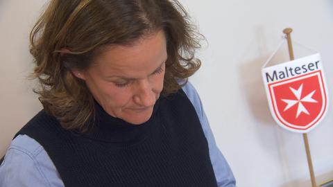 Melanie Lehnert, ehrenamtliche Sterbebegleiterin