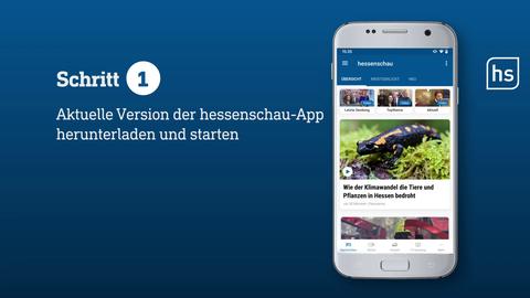 """So gehts: """"Der Tag in Hessen"""" per Push aufs Smartphone"""