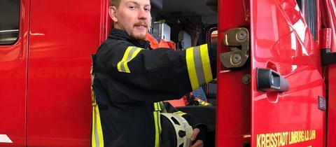 Jan Röhrig, schwerhöriger Feuerwehrmann aus Limburg-Lindenholzhausen