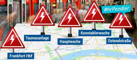 Grafik S-Bahn Störungsmeldungen