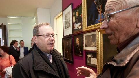 Die Wohnung des ehemaligen Bischofs Tebartz-van Elst ist jetzt ein Museum