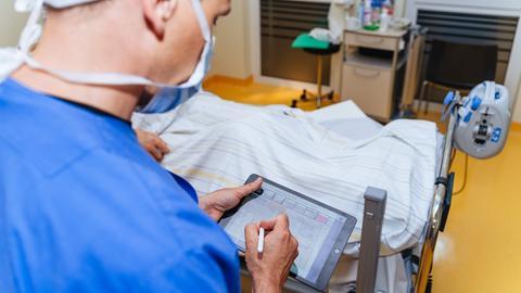 Tele-App im Einsatz in der Intensivmedizin