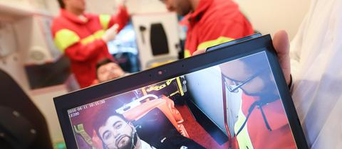 Telemedizin im Rettungswagen
