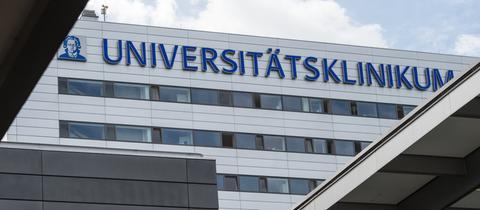 Das Universitätsklinikum in Frankfurt.