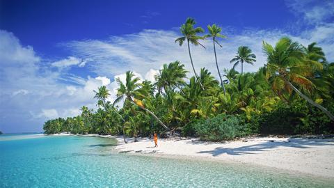 Die Insel Aitutaki - Teil der Cook-Inseln