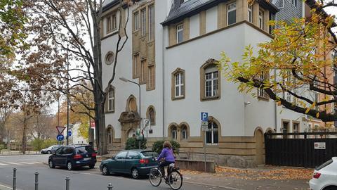 """Die """"Villa Gründergeist"""" im Frankfurter Westend"""