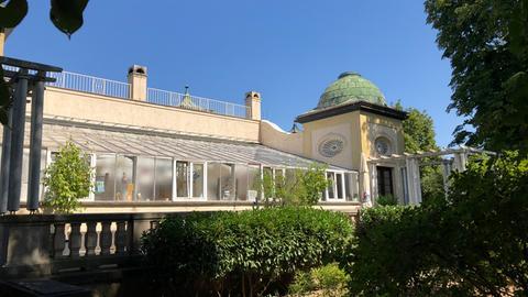 Orangerie der Villa Meister in Frankfurt