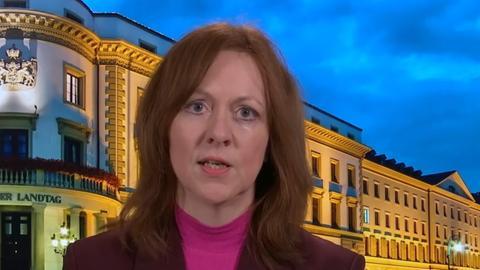 Ute Wellstein, Leiterin des Landtagsstudio in Wiesbaden