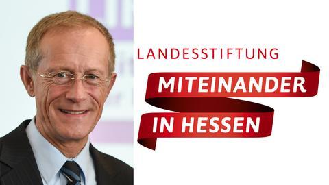 """Axel Wintermeyer (CDU), Chef der Staatskanzlei und Vorsitzender der Landesstiftung """"Miteinander in Hessen""""."""