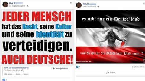 Facebook-Posts von Kneipenwirt Dirk R.
