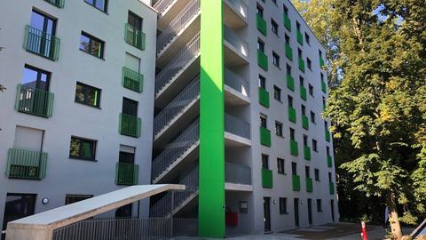 Das neue Studierendenwohnheim Karlshof in Darmstadt