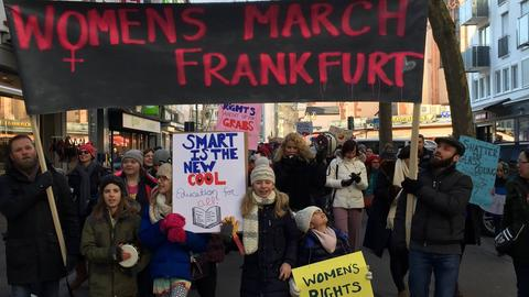Women's March Frankfurt