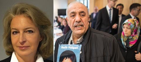 Die Eltern des in Kassel vom NSU ermordeten Halit Yozgat, Ayse und Ismail Yozgat.