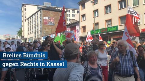 Kassel Demo Gegen rechtsextremismus