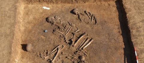 Ausgrabungen Hanau Gräber