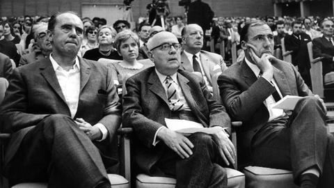 Böll, Adorno, Unseld