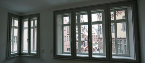Blick in Frankfurter Altstadt-Wohnungen