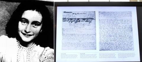 Anne Franks Tagebuch: Zwei verklebte Seiten entziffert