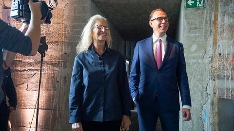 Annie Leibovitz im Kunstverein Familie Montez in Frankfurt